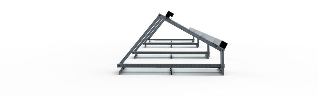 Frame vrije veldopstelling 9 zonnepanelen