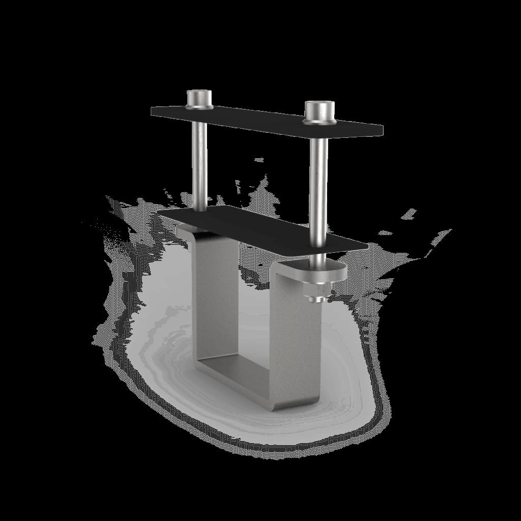Bevestigingsbeugel zonnepanelen op frame veldopstelling